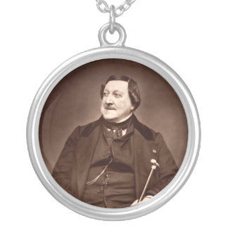 Italian Composer Gioachino Antonio Rossini Custom Jewelry