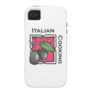 Italian Cooking Vibe iPhone 4 Covers