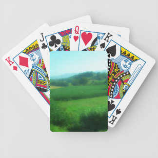 Italian Countryside Bicycle Playing Cards