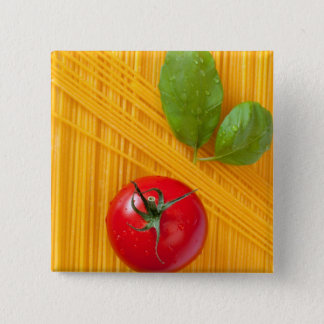 Italian Cuisine 15 Cm Square Badge