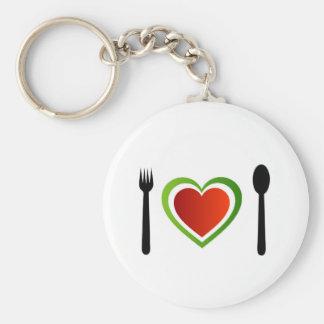 Italian cuisine key chain