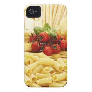 Italian cuisine. Pasta and tomatoes. iPhone 4 Cover