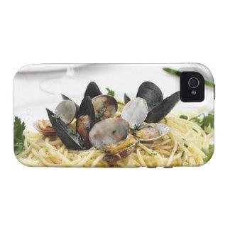 Italian cuisine. Spaghetti alle vongole. Case-Mate iPhone 4 Cover