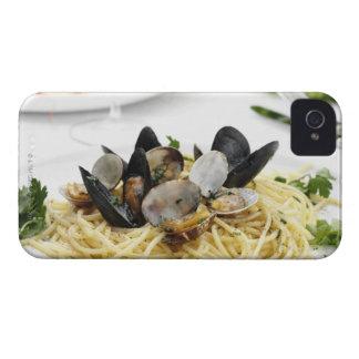 Italian cuisine. Spaghetti alle vongole. Case-Mate iPhone 4 Case