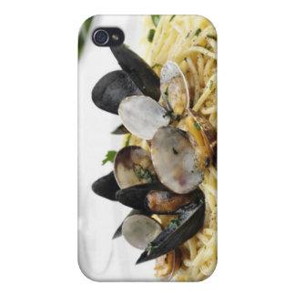 Italian cuisine. Spaghetti alle vongole. iPhone 4/4S Case