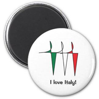 Italian Dancers Magnet