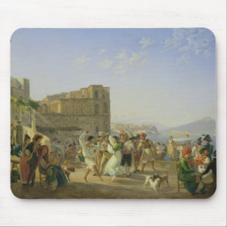 Italian Dancing, Naples, 1836 Mouse Mat