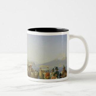 Italian Dancing, Naples, 1836 Two-Tone Coffee Mug