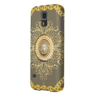 Italian design Medusa, roccoco baroque, gold Galaxy S5 Cover