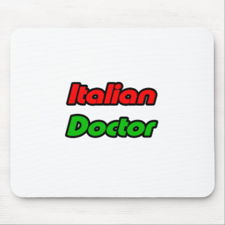 Italian Doctor Mouse Pads