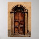 Italian Door Poster