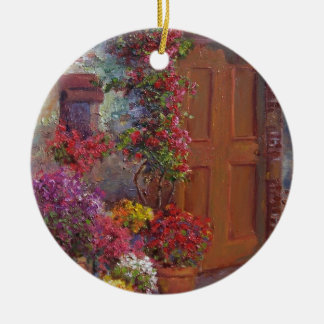 Italian Doorway Christmas Ornament