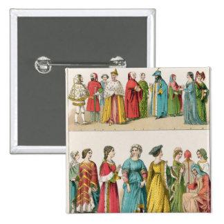 Italian Dress 15 Cm Square Badge