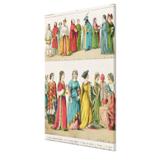 Italian Dress Canvas Print