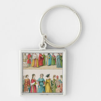 Italian Dress Key Ring