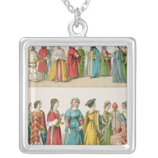 Italian Dress Silver Plated Necklace