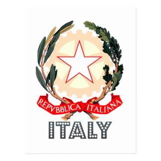 Italian Emblem Postcards
