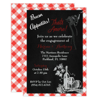 Italian Engagement Invitation