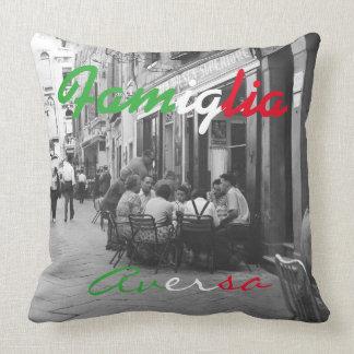 Italian Family Pillow - Famiglia Accent Pillow