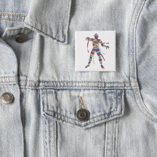 Italian Fashion Mummy 15 Cm Square Badge