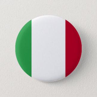 ITALIAN FLAG 6 CM ROUND BADGE