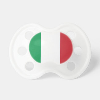 Italian flag baby pacifier | Cute baby shower gift
