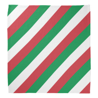 Italian flag bandana   Tricolore of Italy