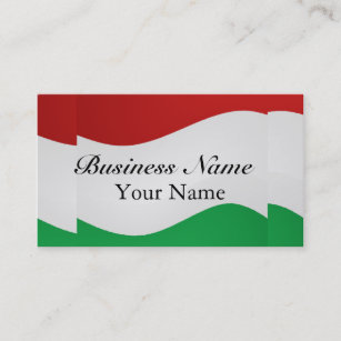 Italian restaurants business cards business card printing zazzle uk italian flag business card colourmoves