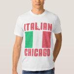 Italian Flag Chicago Shirts