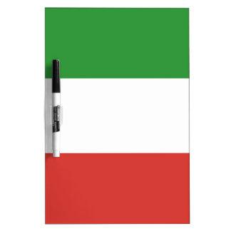 Italian Flag Dry Erase Board
