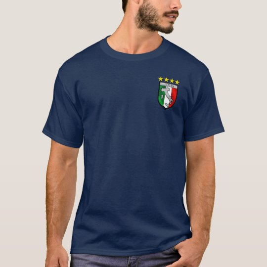 Italian flag emblem badge T-Shirt