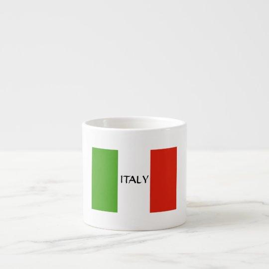 Italian Flag Expresso Mug