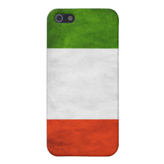 Italian Flag Fitted Hard Shell Case Apple iphone 4 iPhone 5 Covers