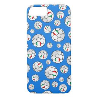 Italian Flag Footballs Soccer Balls Random Pattern iPhone 8/7 Case