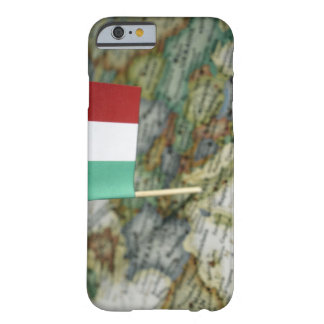 Italian flag in map barely there iPhone 6 case