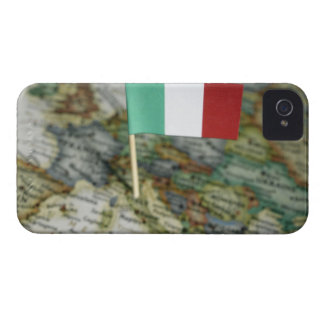 Italian flag in map Case-Mate iPhone 4 case
