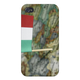 Italian flag in map iPhone 4 case