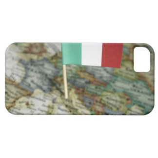 Italian flag in map iPhone 5 case