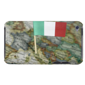Italian flag in map iPod touch Case-Mate case