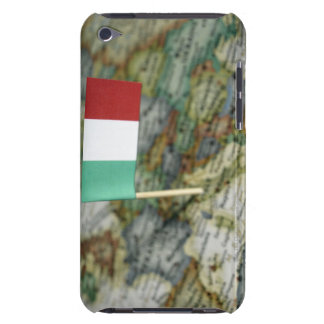 Italian flag in map iPod touch cover