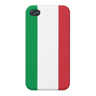 Italian Flag iPhone Case iPhone 4 Cases