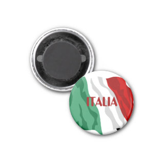 "Italian Flag ""Italia"" Refrigerator Magnet"