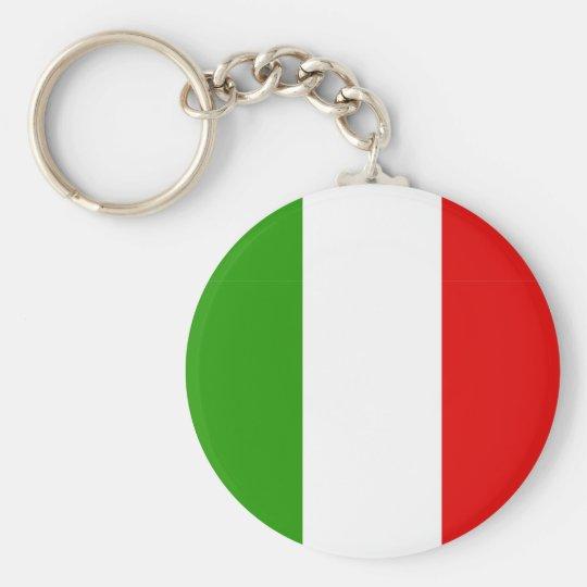 Italian Flag Key Ring