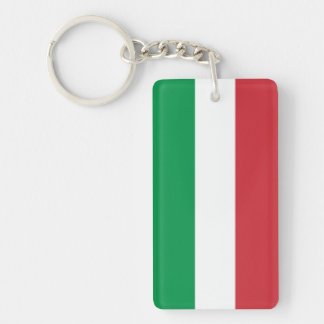 Italian flag keychain | Tricolore Italy