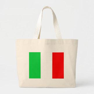 Italian Flag Large Tote Bag