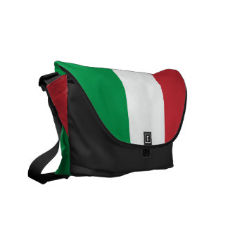 Italian flag messenger bag | Tricolore Italy