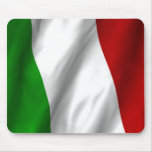 Italian Flag Mouse Pads