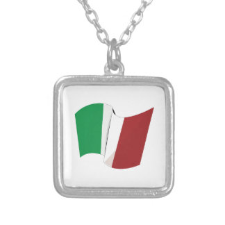 Italian Flag Custom Jewelry