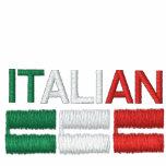 Italian-Flag of Italy Hoodies
