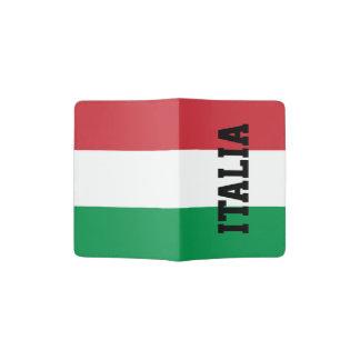 Italian flag passport holder | Italy pride